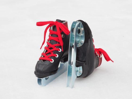 2枚刃スケート靴