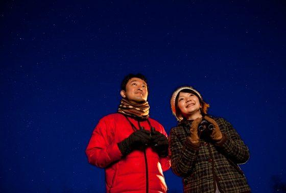 氷上の星空観察会